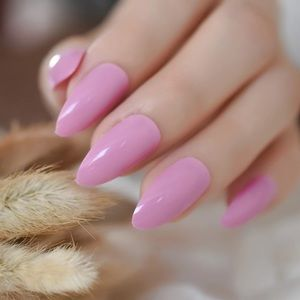 NWT pink stiletto nails